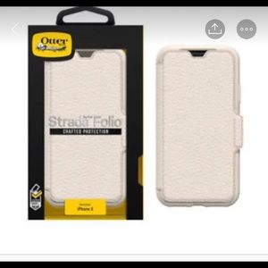 Leather otterbox for iPhone X/xs